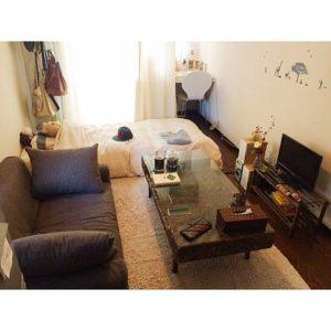 6畳ワンルームの部屋