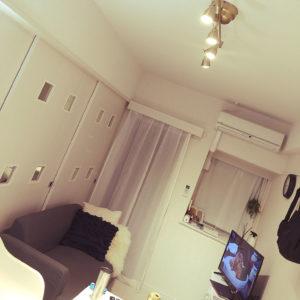 一人暮らしの2Kの部屋
