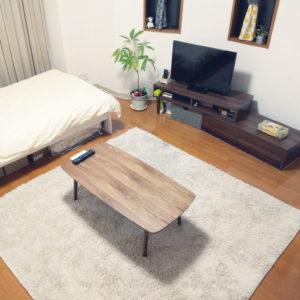 一人暮らし8畳の部屋